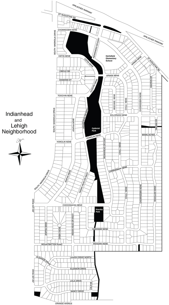 Indianhead:LeHigh map